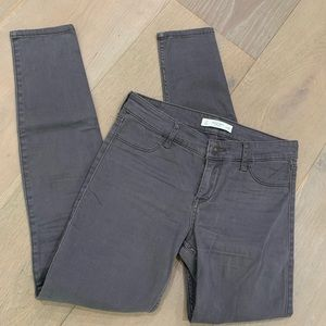 Abercrombie & Fitch gray Skinny Jeans Pants